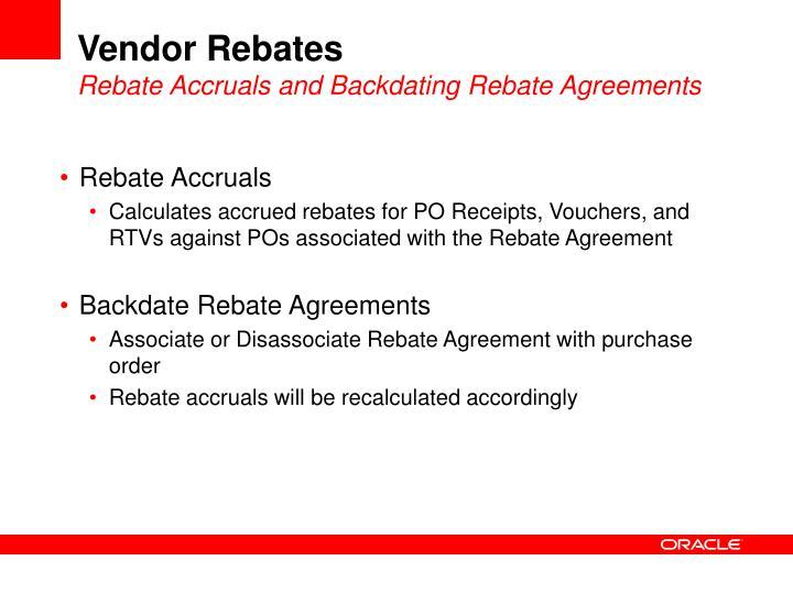 Ppt Vendor Rebates Powerpoint Presentation Id2924033