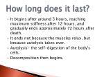 how long does it last