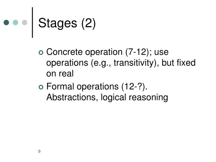 Stages (2)