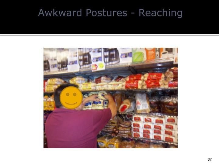 Awkward Postures - Reaching