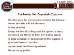 the ready set cupcake tm consumer