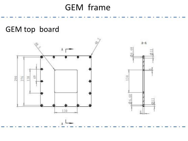 Gem frame