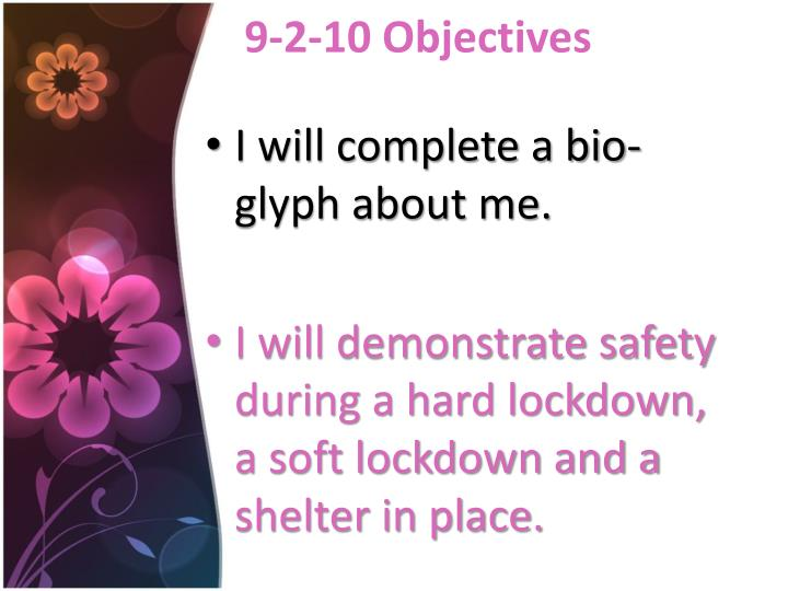 9 2 10 objectives