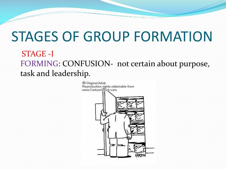 purpose of group formation