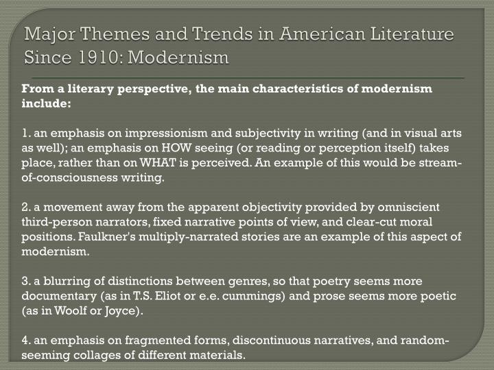 """theme of isolation in american literature """"american history"""" stands out particularly because the theme of cultural isolation and xenophobic attitudes in a large american city is viewed through the fresh eyes of a teenage puerto rican."""