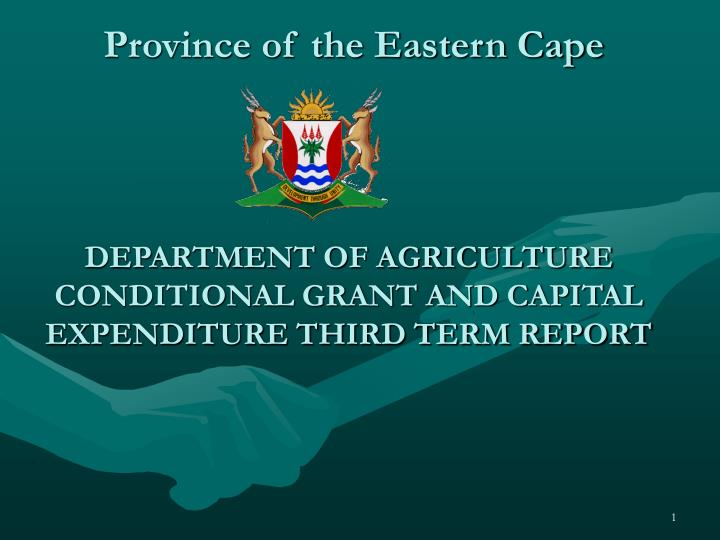 province of the eastern cape n.