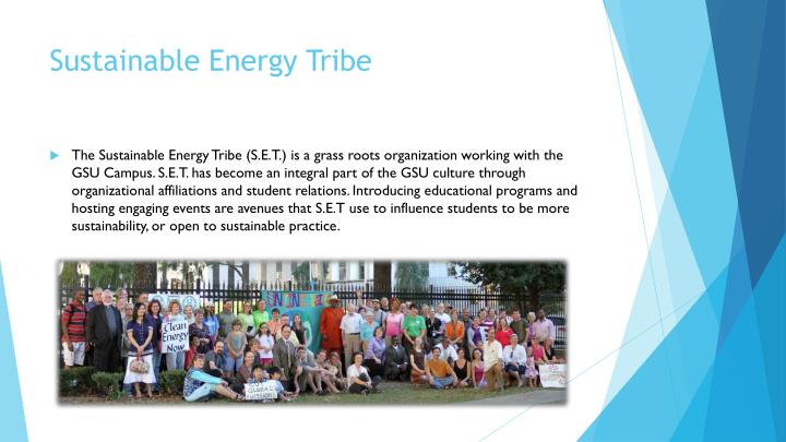 Sustainable Energy Tribe