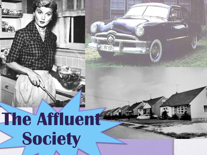 the affluent society n.