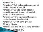 akuntansi untuk tc