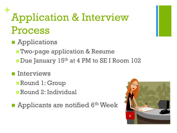 Application & Interview Process