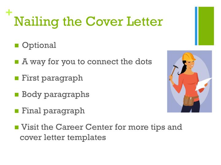 Nailing the Cover Letter