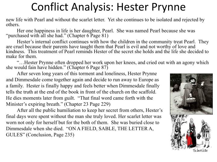 an analysis of the character hester prynne in the scarlet letter These papers were written primarily by students and provide critical analysis of the scarlet letter by the scarlet letter, hester prynne has character hester.