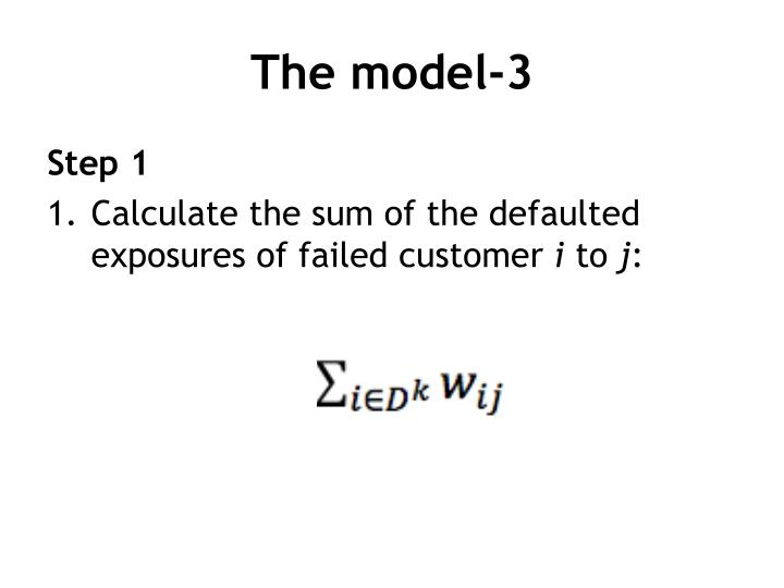 The model-3