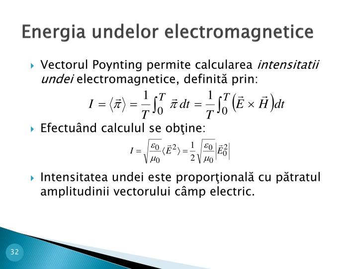 Energia undelor electromagnetice