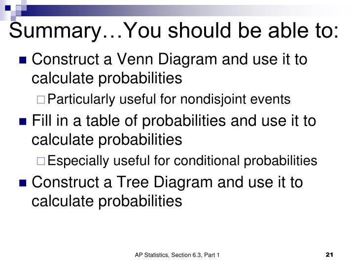 Ppt section 63 probability models powerpoint presentation id summaryyou should be able to ccuart Images