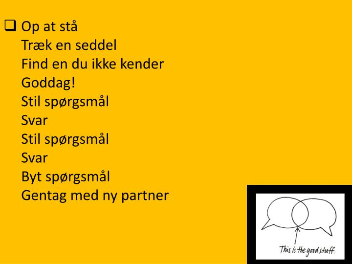 Op at stå