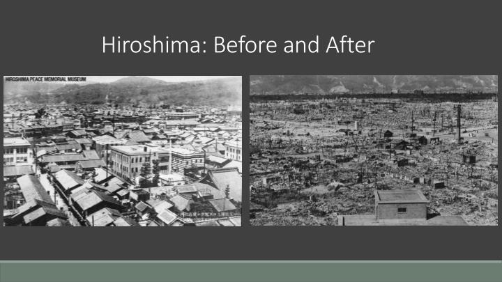 an analysis of the context behind the bombings of hiroshima and nagasaki Find essays and research papers on atomic bombings of hiroshima and nagasaki at the bombings of hiroshima/nagasaki hiroshima bomb analysis.