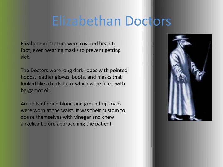 Elizabethan Doctors