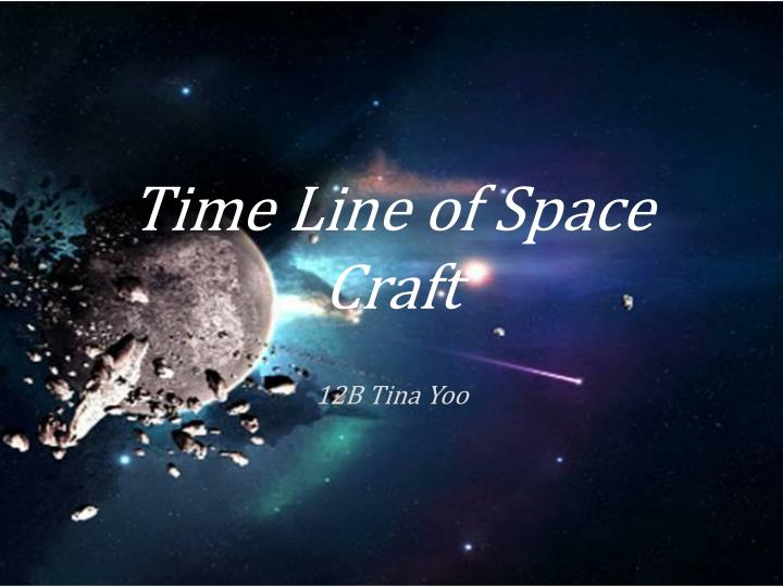 time line of space craft