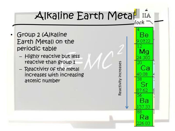 Group 2 periodic table reactivity best table 2018 periodic table group 7a properties diagrams science inanic chemistry how can i relate the reactivity to urtaz Gallery