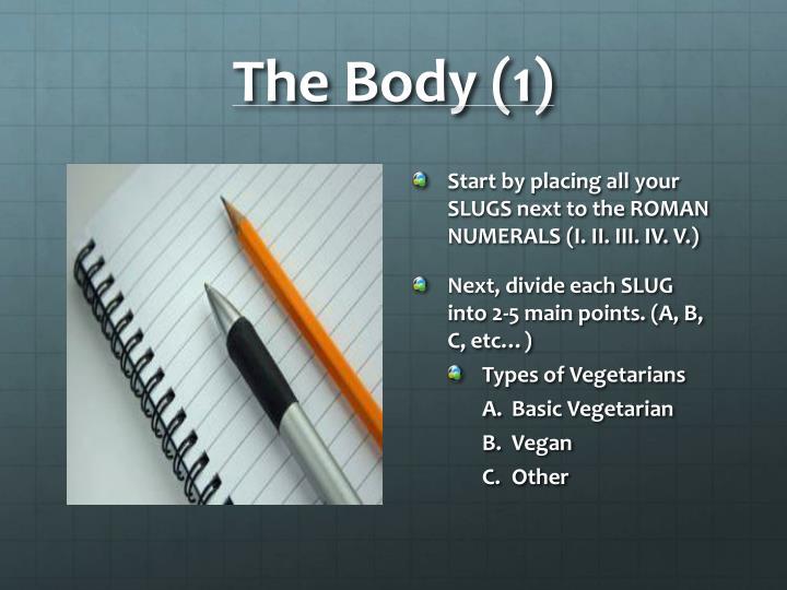 The Body (1)