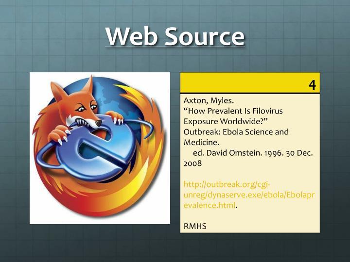 Web Source