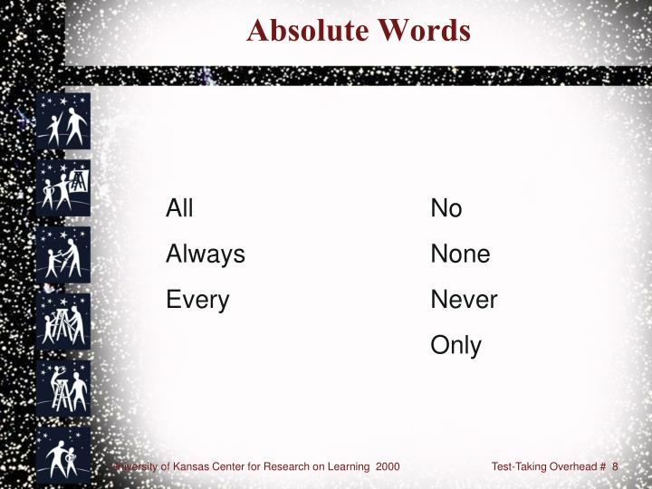 Absolute Words