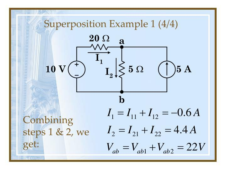 Superposition Example 1 (4/4)