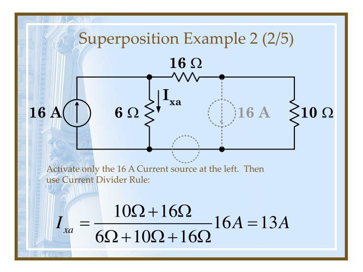 Superposition Example 2 (2/5)