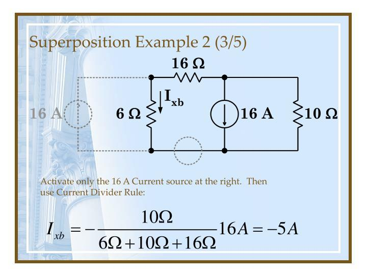 Superposition Example 2 (3/5)