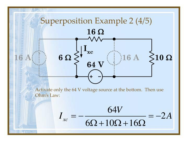 Superposition Example 2 (4/5)