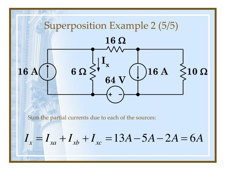 Superposition Example 2 (5/5)