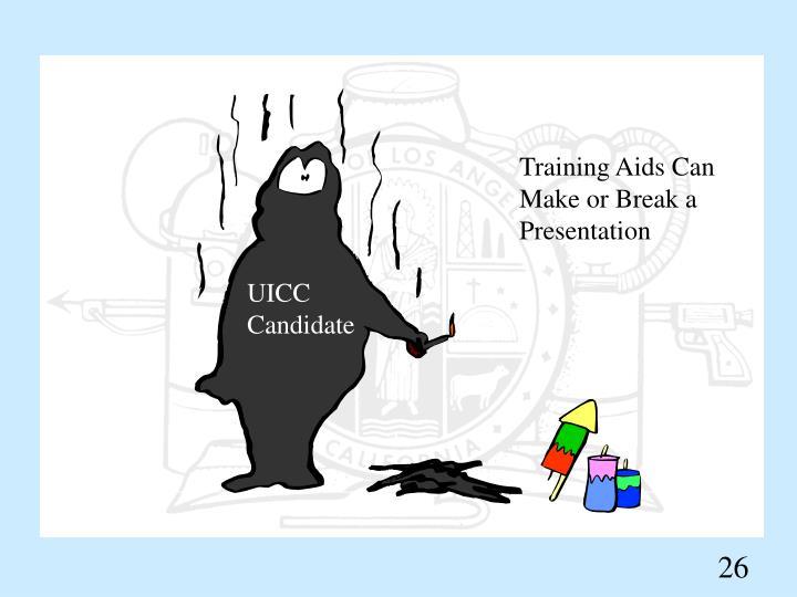 Training Aids Can Make or Break a Presentation