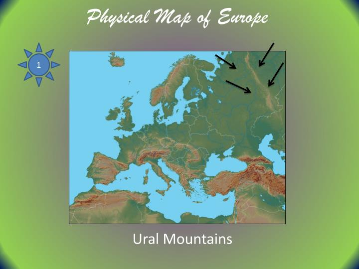 PPT - Physical Map of Europe PowerPoint Presentation, free ...