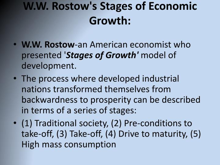 rostovian take off model