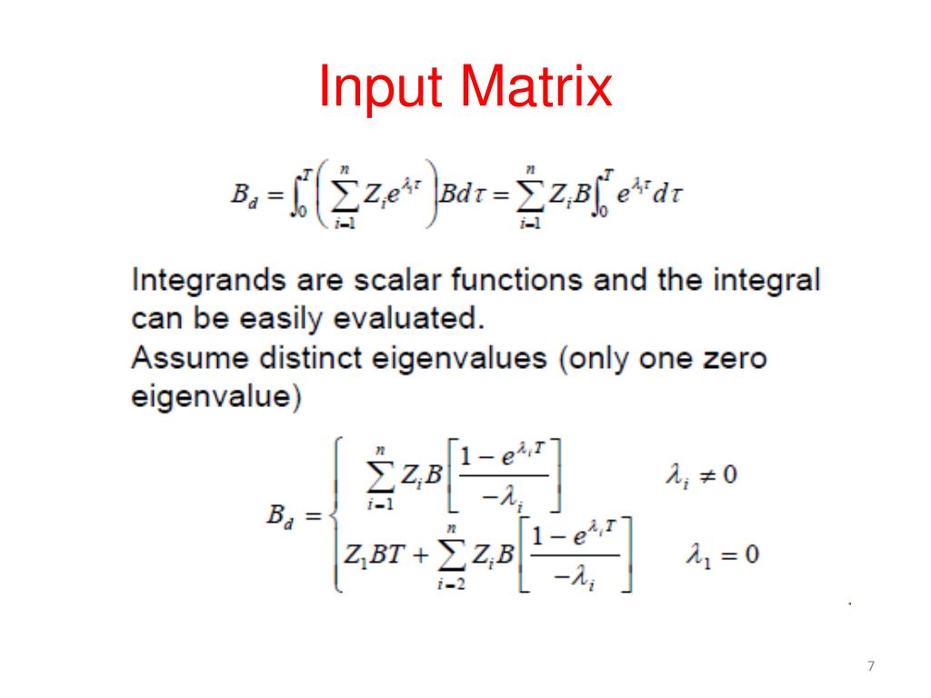 PPT - Discrete-Time State-Space Equations PowerPoint