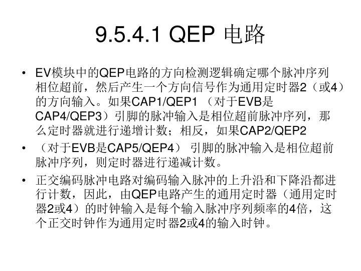 9.5.4.1 QEP