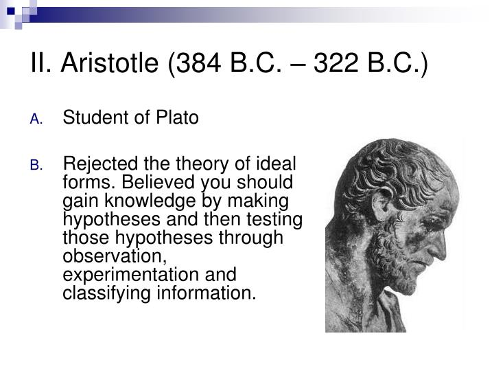 discuss the theory of ideal type The theory of forms, as first fully developed in the phaedo, is a unified formulation of these several points, but it is also more than this for plato now proffers an ontology of concepts for plato now proffers an ontology of concepts.