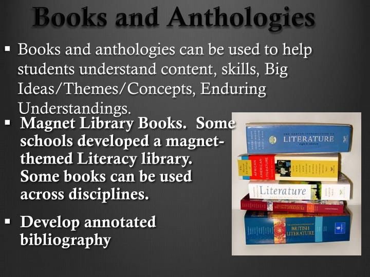 Books and Anthologies