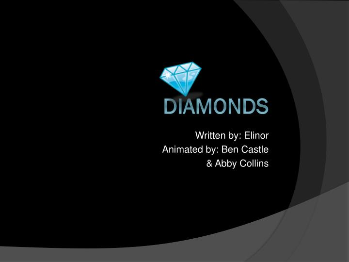 Written by elinor animated by ben castle abby collins