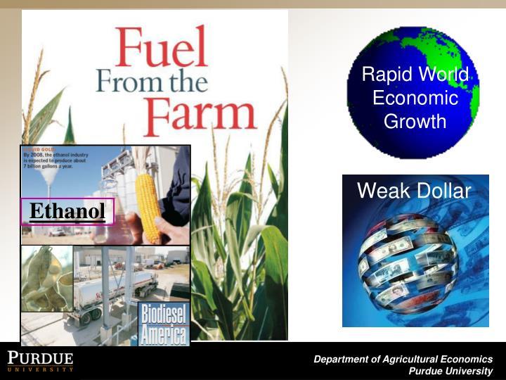 Rapid World Economic Growth