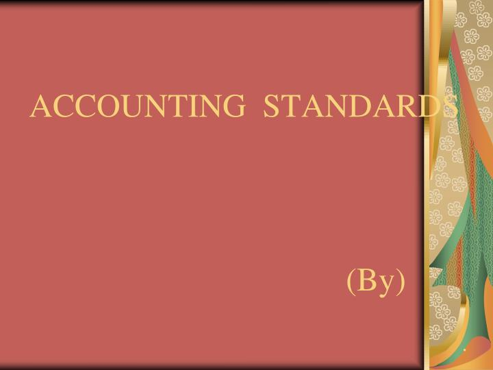 accounting standards by n.