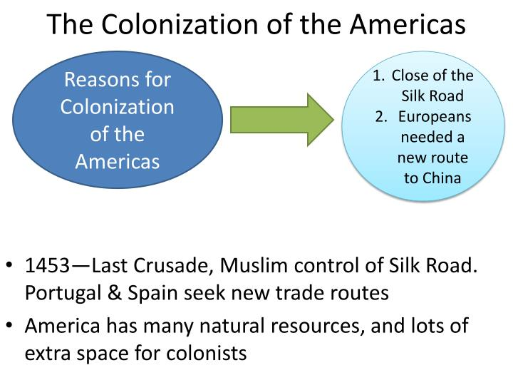 the colonization of the americas n.