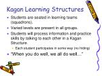 kagan learning structures