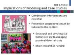 implications of modeling and case studies