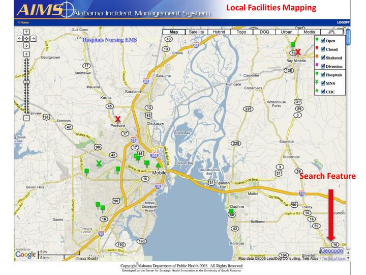 Local Facilities Mapping