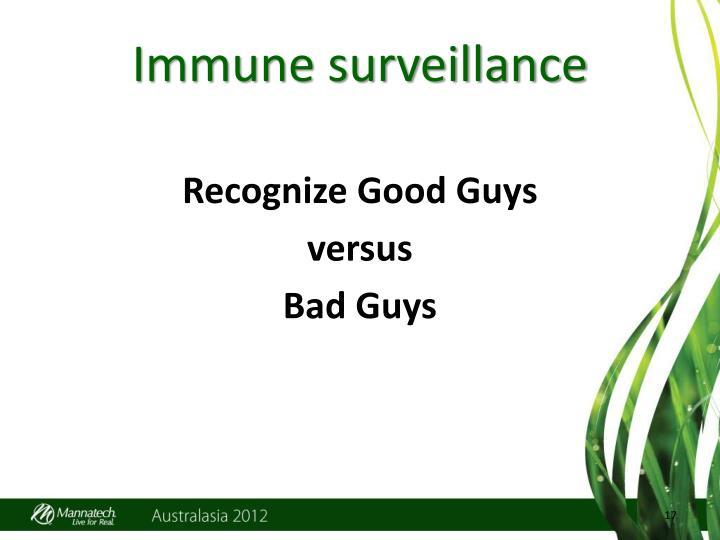 Immune surveillance