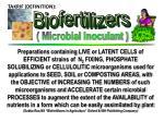 takrif biofertilizers
