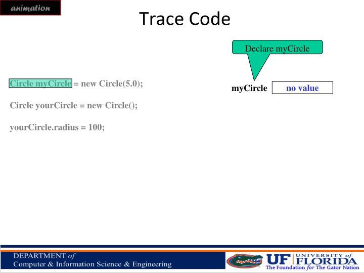 Trace Code