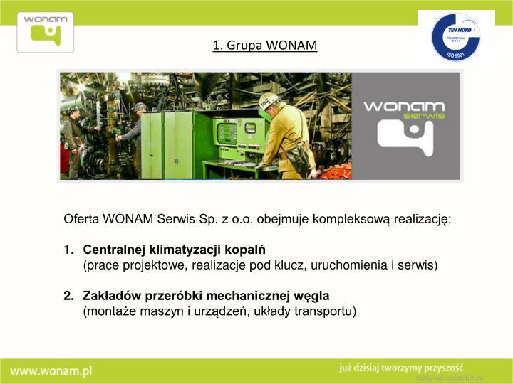 1. Grupa WONAM
